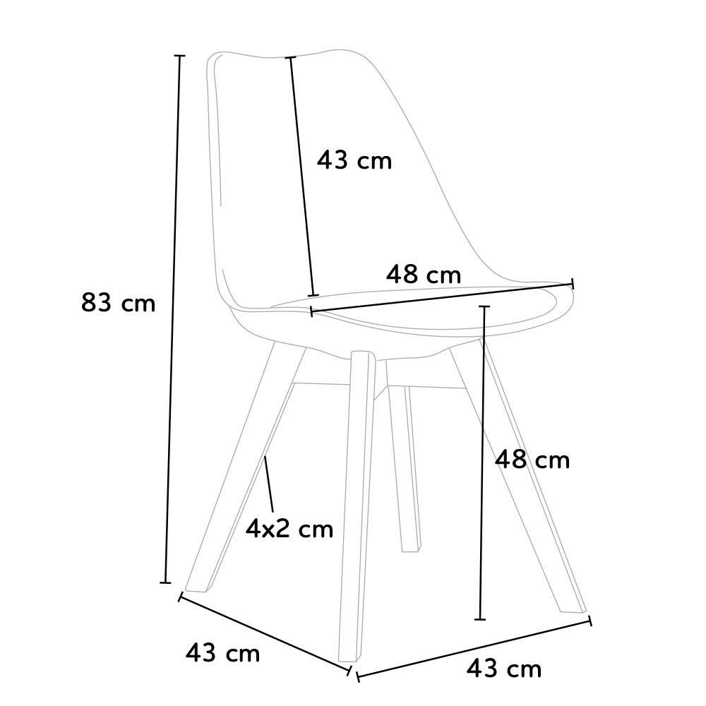 Kích thước ghế Jumy