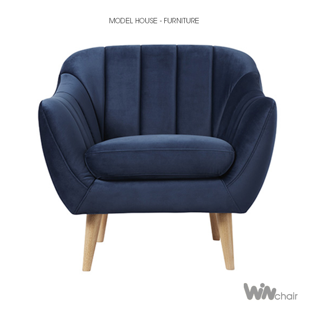 Mặt đứng sofa đơn