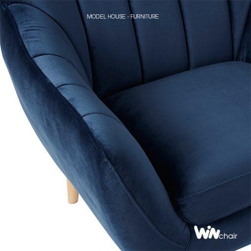 Chi tiết ghế armchair Victoria