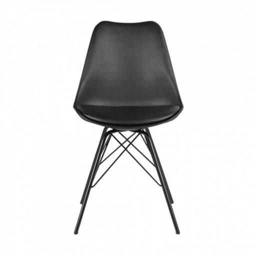 Ghế bàn ăn Eames hiện đại chân sắt