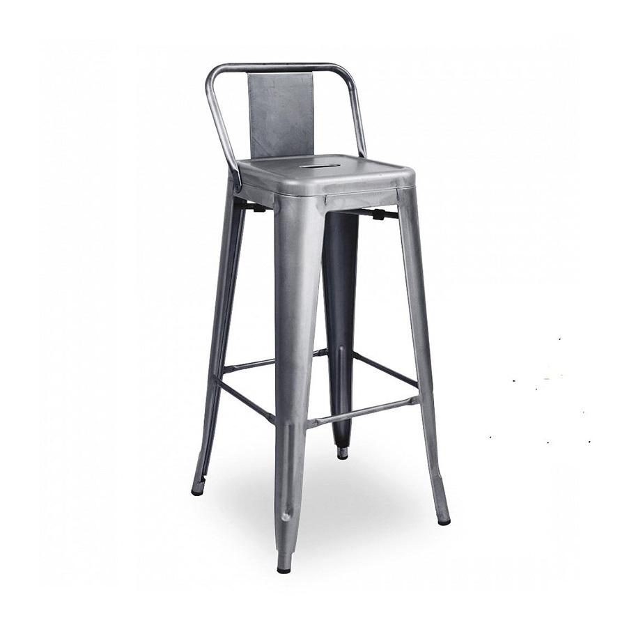 Ghế sắt Tolix bar có lưng