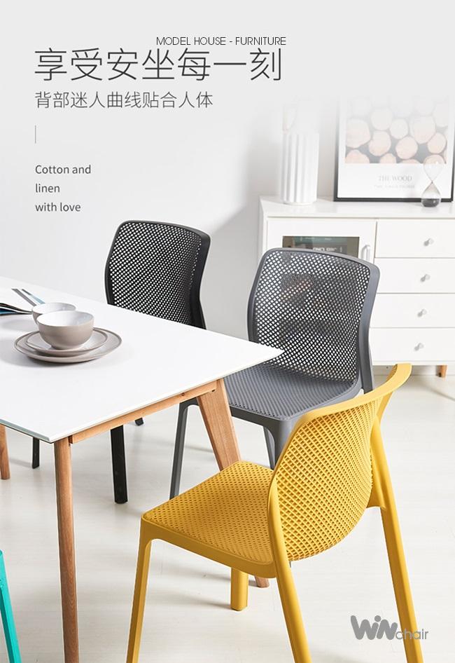 Ghế ăn hiện đại Pipi chair