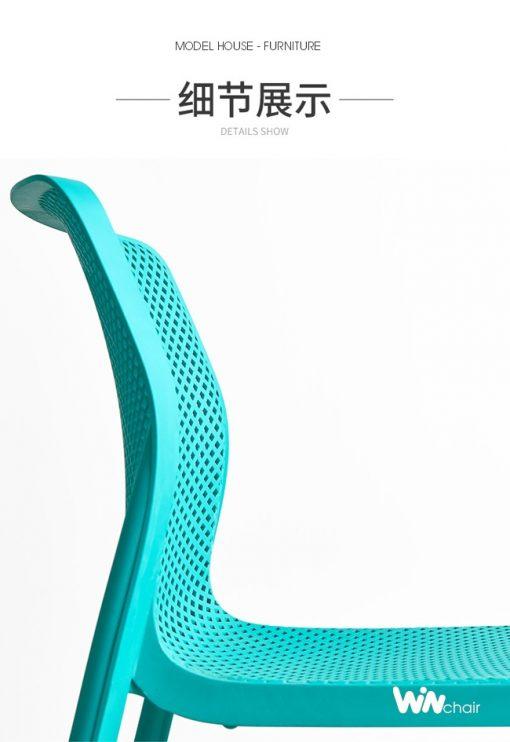 Chi tiết mẫu ghế nhựa WC023