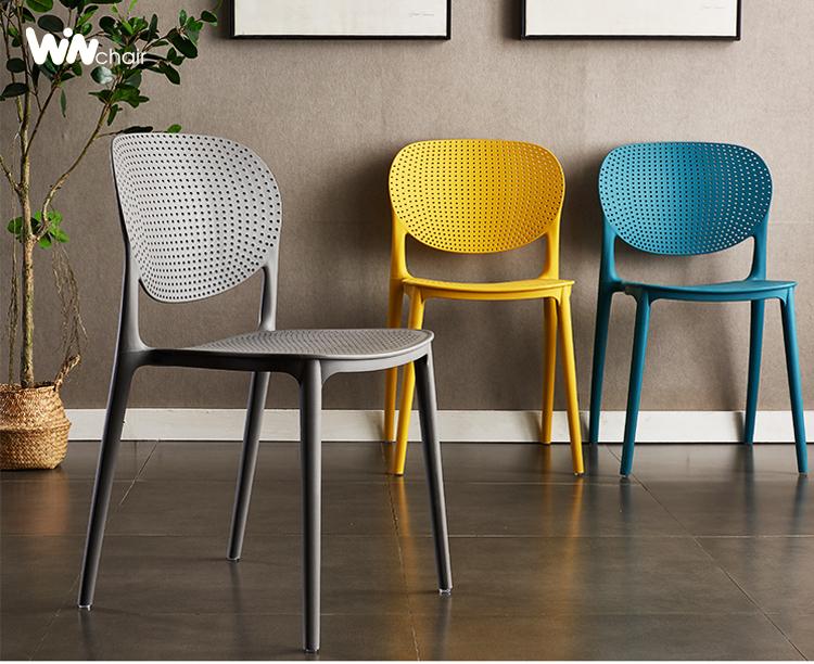 Tốp 5 mẫu ghế nhựa đúc đẹp nhất