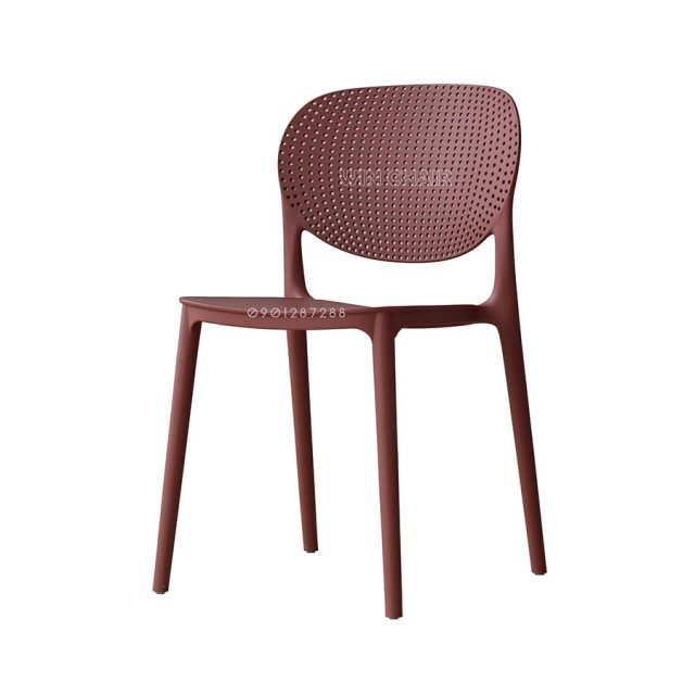 Ghế nhựa cafe hiện đại Ponny WC018