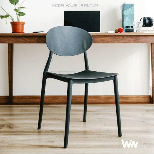 Mẫu ghế nhựa hiện đại WC008