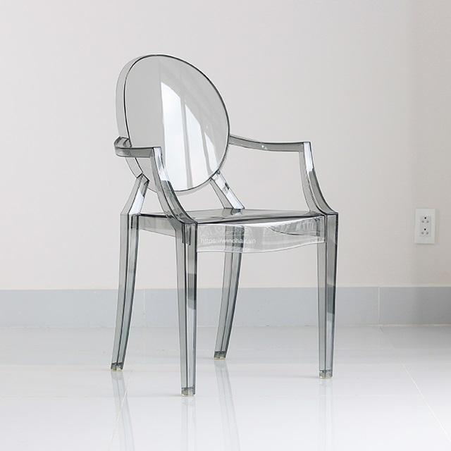 Ghế nhựa trong Ghost chair WC033
