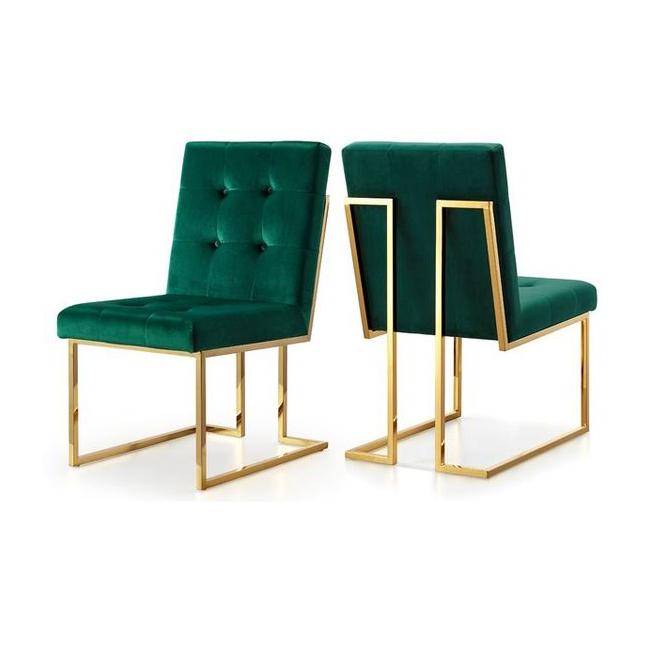 Robey chair ghế ăn chân inox mạ vàng