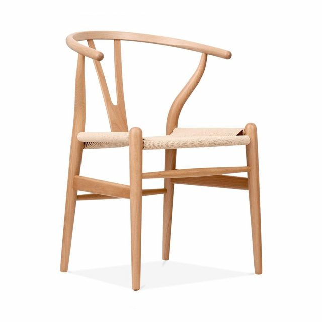 The Wishbone chair ghế gỗ cao cấp
