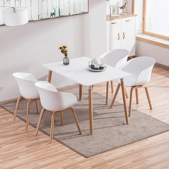 Bộ bàn ăn 4 ghế Dexer hiện đại CB008