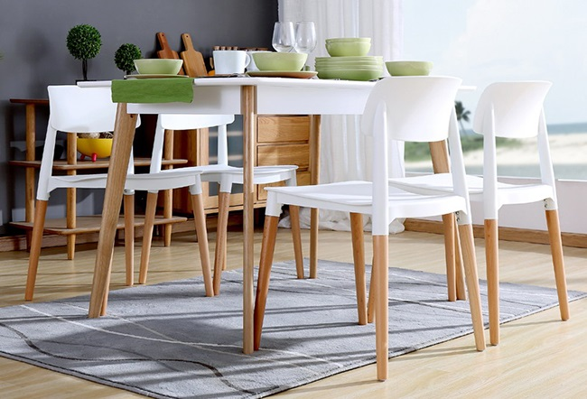 Popo chair ghế ăn hiện đại