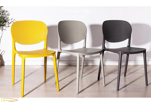 Tốp 5 mẫu ghế nhựa đúc bán chạy