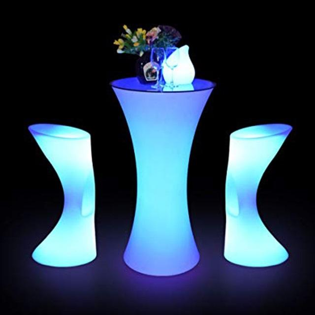 Top bàn ghế phát sáng đẹp cho bar