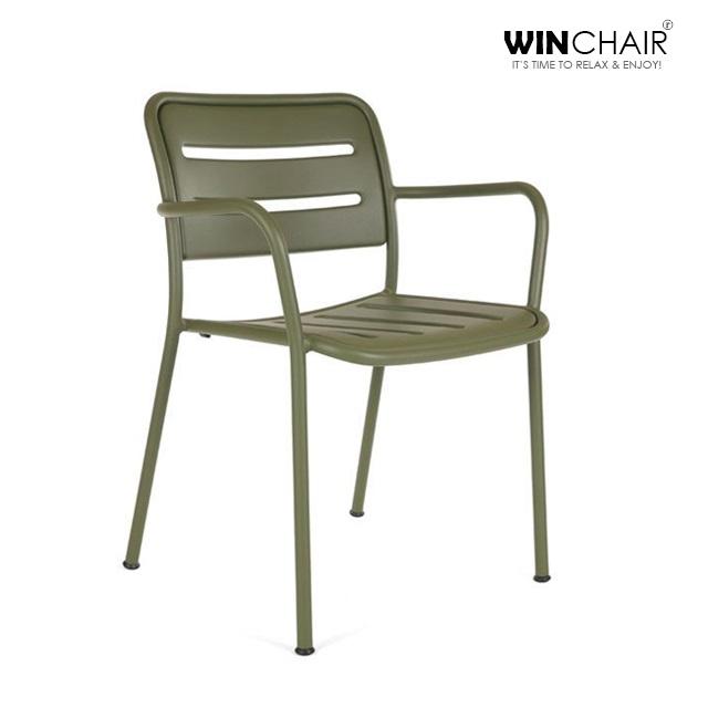 Ghế sắt sân vườn Kettal chair