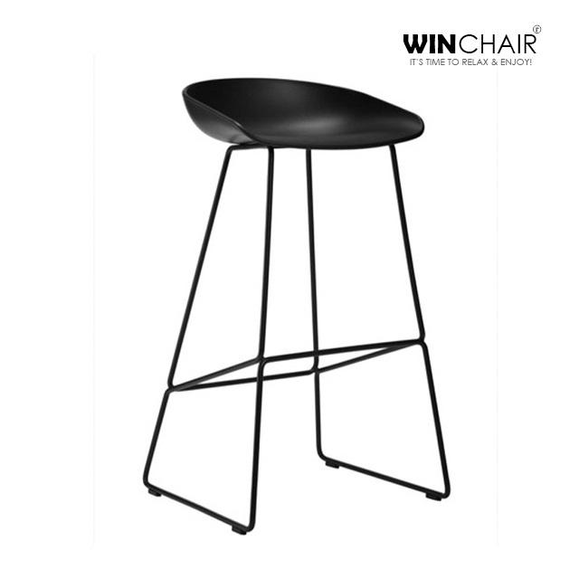 Ghế bar chân sắt hiện đại WC165