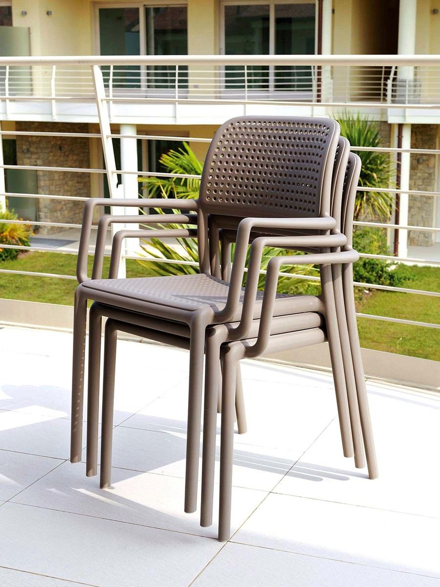 Ghế nhựa sân vườn Bora chair