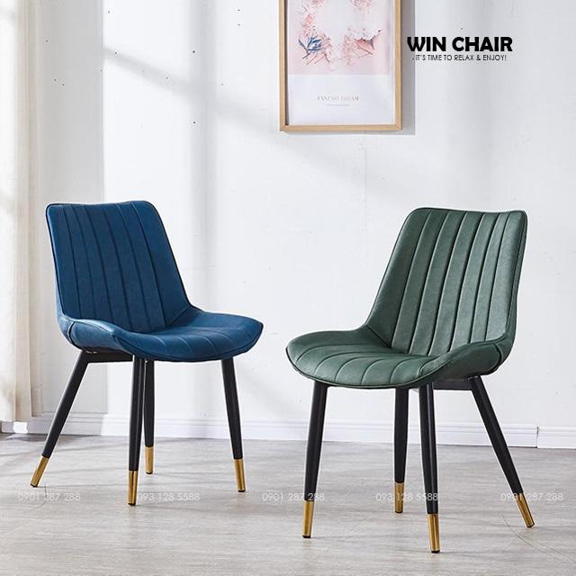 Màu sắc ghế lạ mắt và sang trọng