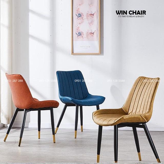 Nordic chair WC204 rất phù hợp cho không gian cafe, nhà hàng