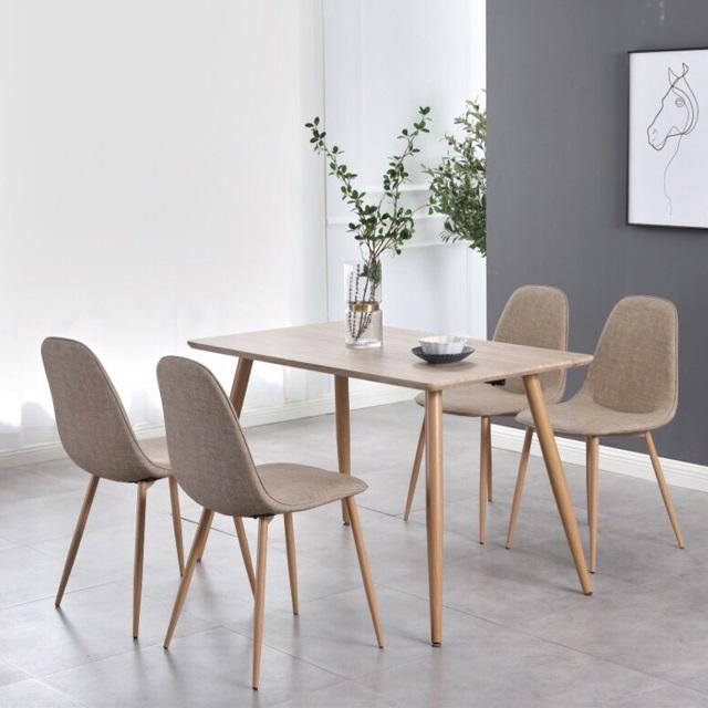 Bộ bàn ăn 4 ghế CB001