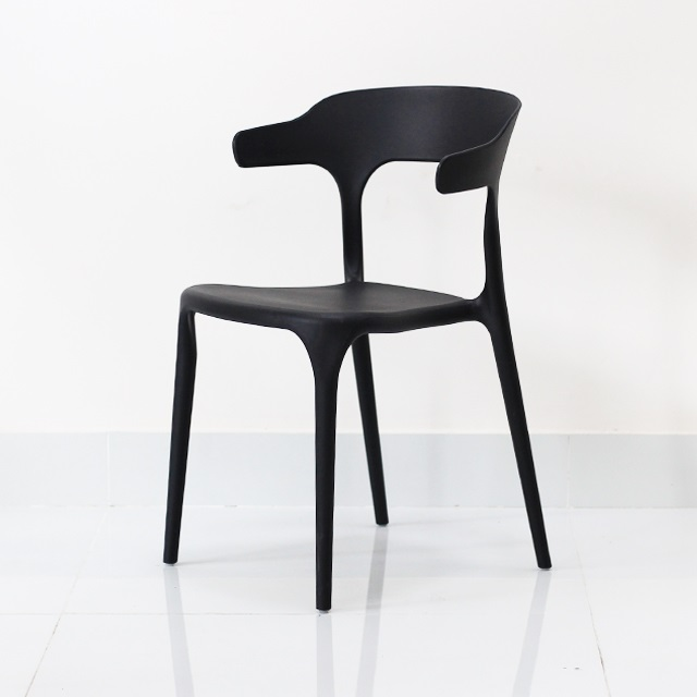 Ghế cafe ngoài trời Koalas chair màu đen