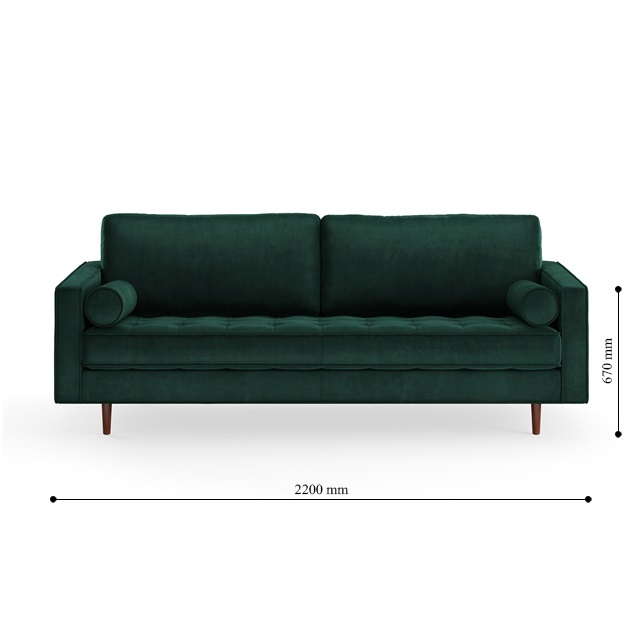 Kích thước ghế sofa Laha