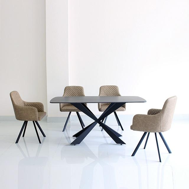 Bộ bàn ăn 4 ghế Magis sang trọng CB014