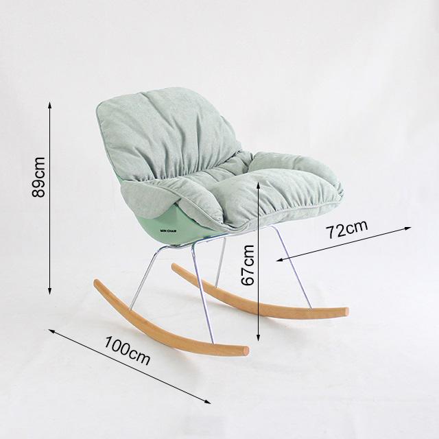 Kích thước của ghế thư giản WC246
