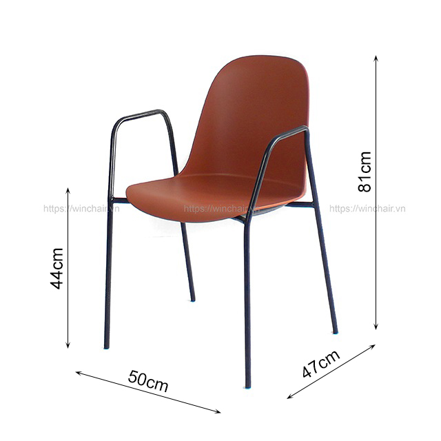 Kích thước ghế Gai23