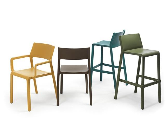 Ghế bar Trill stool mini Nardi