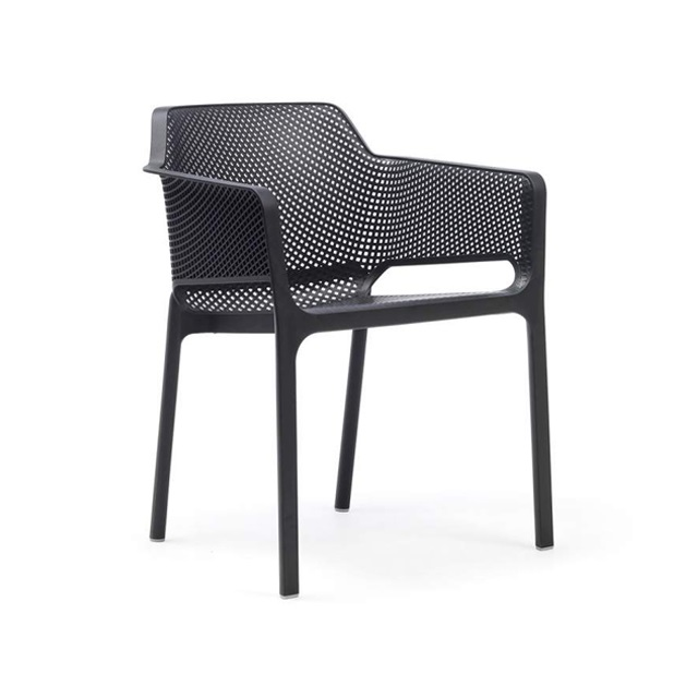 Ghế nhựa cao cấp Net chair màu đen