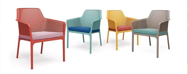 Màu sắc ghế nhựa Net Relax