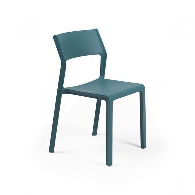 Ghế Trill Bistrot Nardi màu xanh cổ vịt