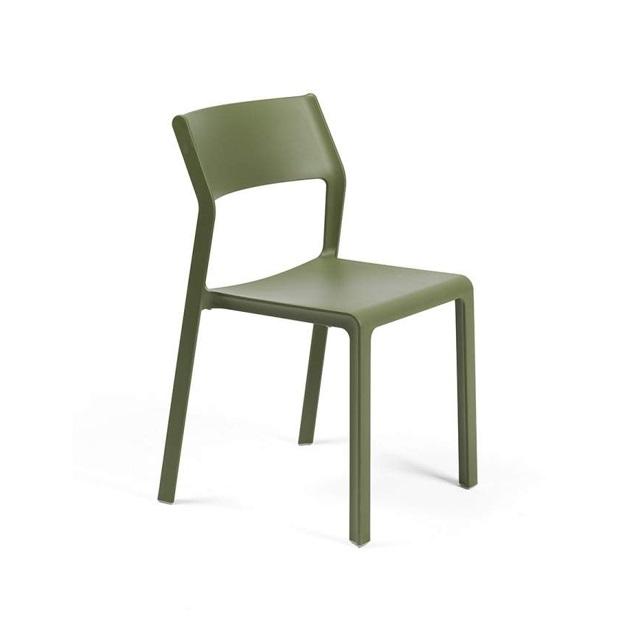 Ghế Trill Bistrot Nardi màu xanh lá