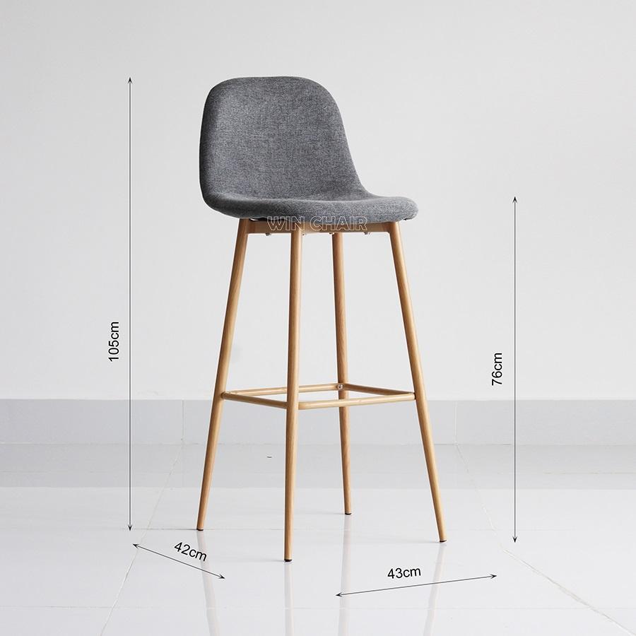Kích thước ghế Para stool cao