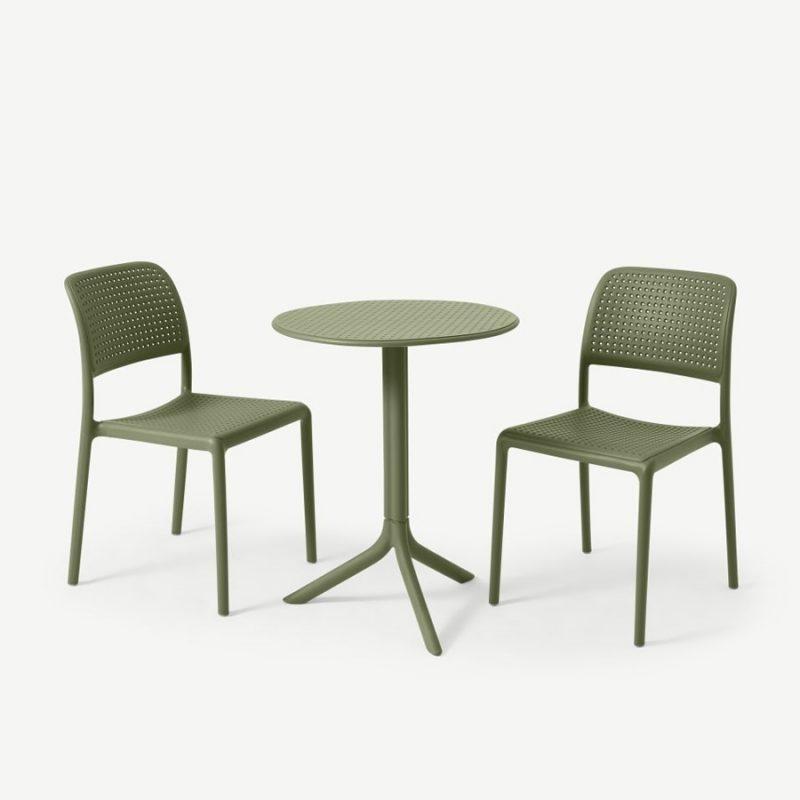 Bộ bàn tròn Step 2 ghế Bora