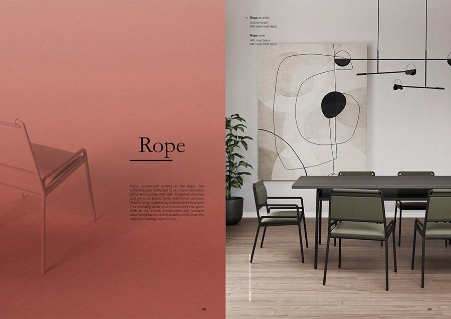 Ghế Rope chair WC025