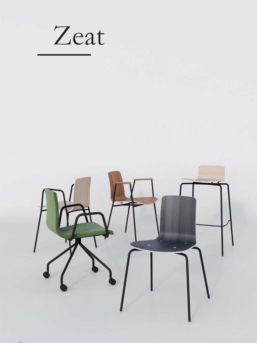 Ghế Zeat arm chair WC019