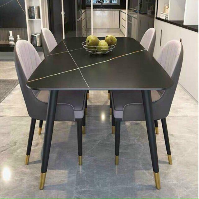 Bộ bàn ăn gia đình 4 ghế sang trọng CB025