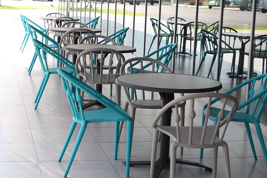 Ghế nhựa sân vườn cao cấp Revial WC118