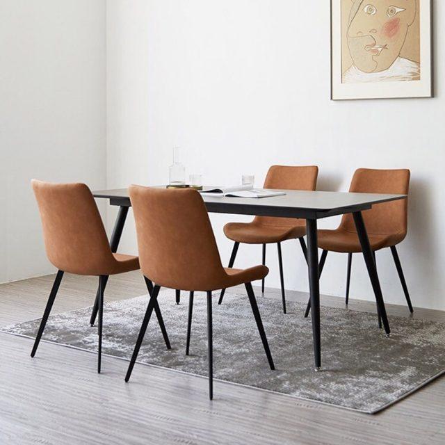 Bộ bàn ăn 4 ghế sang trọng CB019