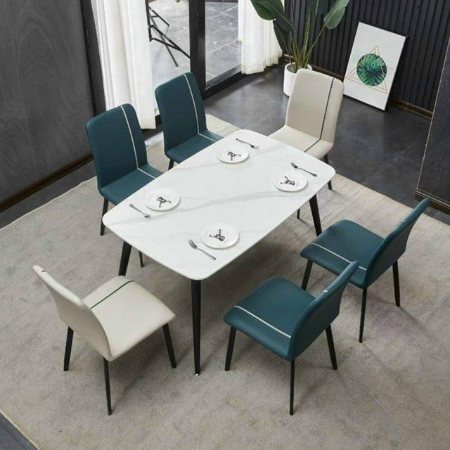 Bộ bàn ăn 6 ghế hiện đại CB021