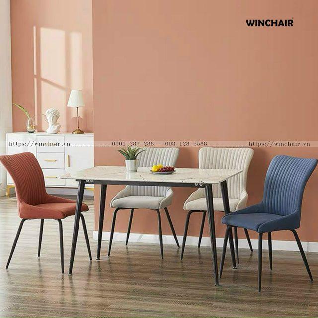 Bộ bàn ăn gia đình 4 ghế CB020