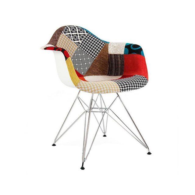 Ghế Eames Bọc Vải Thổ Cẩm WC143