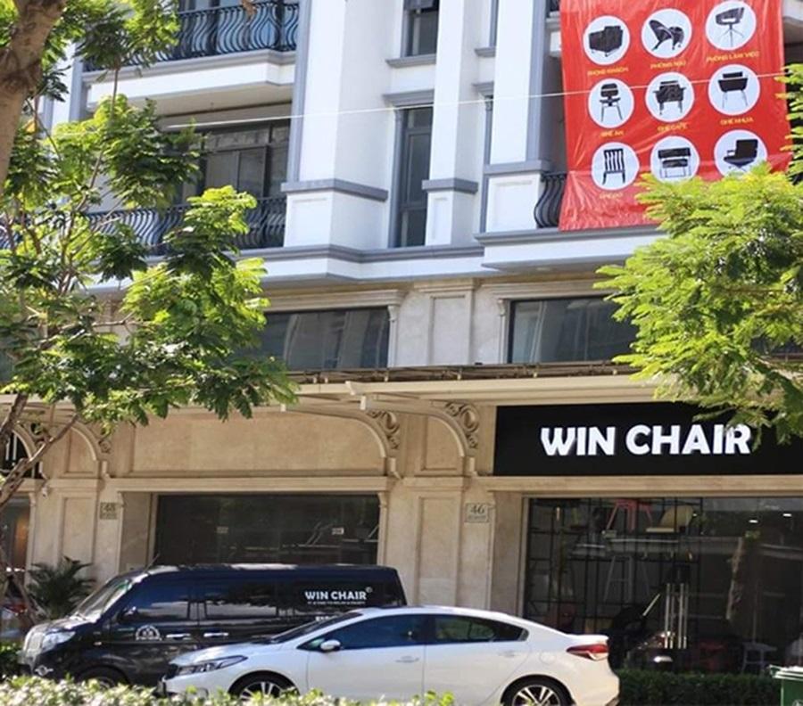 Hình ảnh showroom ghế WIN CHAIR